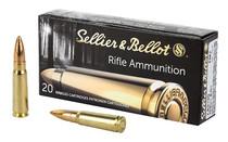SELLIER & BELLOT 7.62x39mm 124 Grain Full Metal Jacket Box of 20 Ammunition (SB76239A)