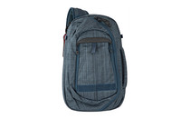 VERTX Commuter XL 2.0 Poly 600D Melange-X Heather Navy Sling Bag (VTX5076)