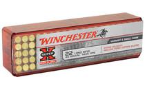 WINCHESTER Super-X Hyper Velocity .22LR 40 Grain Copper Plated HP 100 Round Box of 1435 fps Rimfire Ammunition