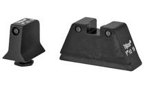 TRIJICON Bright & Tough Green Night Sights For Glock Suppressor Height Steel Black (GL201-C-600661)