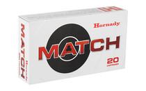 HORNADY Match 6.5 Creedmoor 120 Grain 20 Round Box of ELD Match Rifle Ammunition (81491)