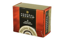 FEDERAL Hydra-Shok 40S&W 165 Grain Hollow Point 20 Round Box of Centerfire Ammunition (P40HS3)