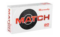 HORNADY Match 6.5 Creedmoor 140 Grain 20 Round Box of ELD-Match Rifle Ammunition (81500)
