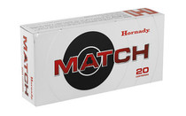 HORNADY Match 6.5 PRC 147 Grain 20 Round Box of ELD Rifle Ammunition (81620)