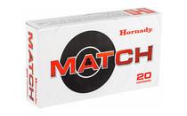 HORNADY Match .260 130 Grain 20 Round Box of Remington ELD Polymer Tip Rifle Ammunition (8553)