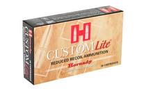 HORNADY Custom Lite 7mm-08 Remington 120 Grain 20 Round Box of SST Rifle Ammunition (80572)