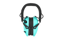 WALKER'S Razor Slim Folding Electronic Earmuffs Teal (GWP-RSEM-LTL)