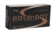 SPEER Gold Dot 357 SIG 125 Grain 50 Round Box of GDHP Handgun Ammunition (53918)