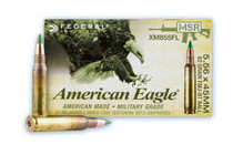FEDERAL American Eagle 5.56NATO 62Gr 20Rd Box of FMJ Rifle Ammunition (XM855FL)