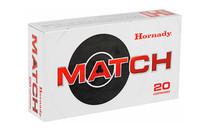 HORNADY Match 6.5 Creedmoor 147Gr 20Rd Box of ELD Match Rifle Ammunition (81501)