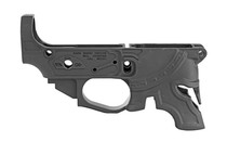SPIKES TACTICAL Rare Breed Spartan Black Finish CNC Machined 7075 Billet Aluminum 223 Rem/556NATO Semi-Automatic Stripped Lower (STLB610)