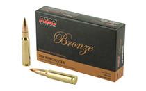 PMC Bronze 308 Win 147 Grain 20rd Box of Full Metal Jacket Centerfire Rifle Ammunition (308B)