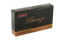 PMC Bronze 308 Winchester 7.62NATO 147 Grain FMJ 20 Round Box of Centerfire Rifle Ammunition (308B)