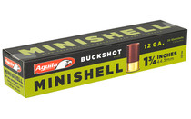 "AGUILA Minishell 12ga 1.75"" Buckshot 20 Round Box of Mini Shotshell Ammunition (1CHB1288)"