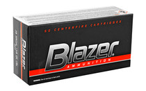 BLAZER .38Special 158Gr 50 Round Box of Lead Round Nose Handgun Ammunition (3522)