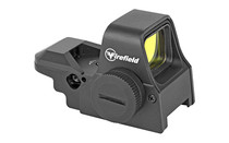FIREFIELD Impact XLT 1x Four Pattern Dot/Cross/Cross-Circle/Circle-Dot Reticle Picatinny/Weaver-Style Mount Reflex Red Dot Sight (FF26025)