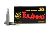 TULAMMO 223 Rem 20 Rd Box Rifle Ammo