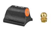 "XS SIGHTS Big Dot Tritium Orange Shotgun Requires 0.125"" to 0.140"" Diameter Bead With Mossberg Bead Front Sight Matte Black (SG-2005-3N)"