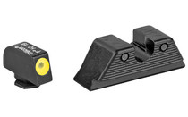 TRIJICON HD Tritium For Glock MOS 9mm Yellow Front Outline Night Sights (GL114-C-601088)
