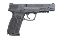 """SMITH & WESSON M&P Spec Series 2.0 9mm 5"""" Barrel 2x Mags 17Rd Semi-Automatic Striker Fired Pistol with Tritium Night Sights Includes Challenge Coin and Knife (13113)"""