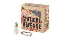 HORNADY Critical Defense 9mm 115Gr 25Rd Box of FTX (90250)