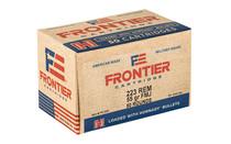 FRONTIER Lake City 223Rem 55Gr 50Rd Box of FMJ Rifle Ammunition (FR1005)
