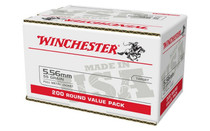 WINCHESTER 5.56x45mm NATO 55 Grain M193 Full Metal Jacket 200 Round Value Pack (USA556L2)