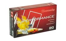 HORNADY Superformance 243 WIN 95 Grain SST 20 Round Box Of Centerfire Rifle Ammunition (80463)