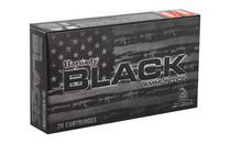 HORNADY BLACK 224 Valkyrie 75 Grain Boat Tail Hollow Point 20 Round Box of Centerfire Rifle Ammunition (81532)