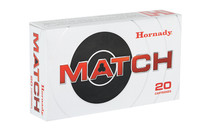 HORNADY Match 224 Valkyrie 88 Grain ELD Match 20 Round Box of Centerfire Rifle Ammunition (81534)