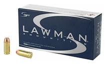 SPEER Lawman Training 40 S&W 180 Grain Total Metal Jacket 50 Round Box of Centerfire Pistol Ammunition (53652)