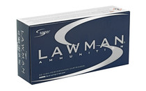 SPEER Lawman Training 40 S&W 180 Grain Total Metal Jacket 50 Round Box of Centerfire Pistol Ammunition (53652)