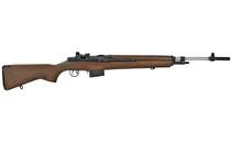 "SPRINGFIELD M1A Super Match Competition 308Win 22"" Stainless Heavy Douglas Barrel 10Rd Semi-Automatic Rifle Walnut Stock (SA9802)"