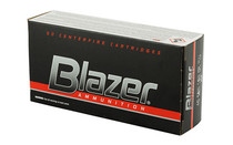 BLAZER 40 S&W 180 Grain Full Metal Jacket 50 Round Box of Centerfire Pistol Ammunition (3591)