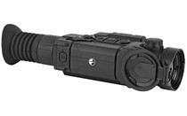 PULSAR Trail LRF XP50 1.6-12.8x42 Black Finish Multiple Reticles Integrated VideoRecorder Wireless Remote Control Thermal Weapon Sight with Integrated Laser Rangefinder (PL76519)