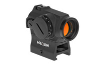 HOLOSUN Micro Red Dot 2MOA Dot 1X Power 20mm Objective Hi and Low Mount with Mounting Tool And Lens Cloth (HS403R)