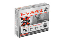 WINCHESTER Super-X 20 Gauge 2.75in 0.75 oz. Slug 5 Round Box of Shotshell Ammunition (X20RSM5)