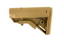 B5 Systems BRAVO Stock Coyote Brown Mil Spec With Quick Detach Mount (BRV-1086)