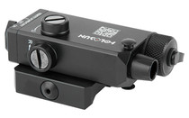 HOLOSUN Compact Red Laser Fits 1913 Picatinny Rail Remote Switch Included Fully Adjustable Black Finish QR Mount Laser Sight (LS117R)
