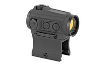 HOLOSUN Micro Green Dot 2MOA Dot Only or a 2MOA Dot with 65 MOA Circle Solar With Internal Battery Includes Low and Lower 1/3 Co-Witness Mount Green Dot Sight (HE503CU-GR)