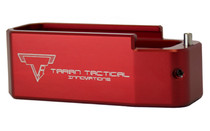 TTI PMAG +5 Base Pad for AR15 Red (PMBP-03)