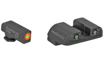 "AMERIGLO Glock Bold Sights Night Sight Set .180"" Front Fits Glock Gen3 and Gen4 Models (47284)"