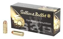 SELLIER & BELLOT 10mm Auto 180Gr 50 Round Box of FMJ Handgun Ammunition (SB10A)