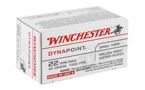WINCHESTER USA 22WMR 45Gr 50 Round Box of Dynapoint Rimfire Ammunition (USA22M)
