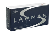 SPEER Lawman 9mm 147Gr 50Rd Box of TMJ Flat Nose Handgun Ammunition (53620)