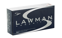 SPEER Lawman 9mm 124Gr 50Rd Box of TMJ Handgun Ammunition (53651)