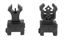 DIAMONDHEAD Diamond Integrated Sighting System Flip-Ups for AR Rifles (1499)
