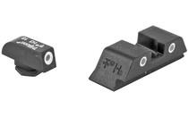 TRIJICON 3 Dot Tritium Nights Sights Fits Glock Standard Frame (GL01-600210)