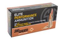 SIG SAUER Elite Hunt 6.5 Creedmoor 120 Grain 20Rd Box of HT Rifle Ammunition (E65CH1-20)