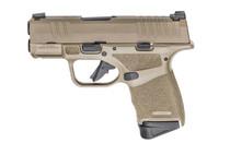 SPRINGFIELD ARMORY Hellcat 9mm 3'' Barrel 13/11rd Mags Desert FDE Semi Automatic Pistol (HC9319F)